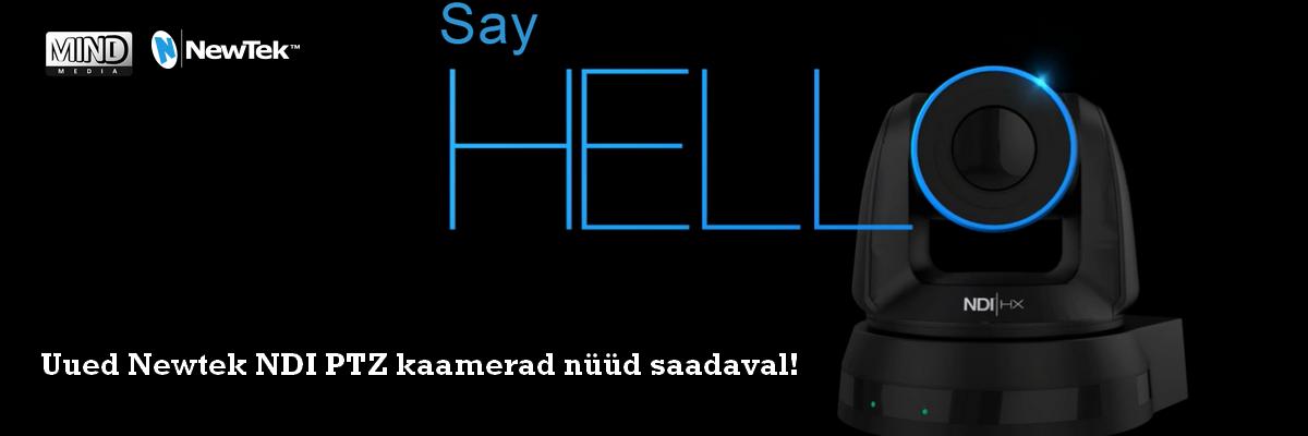 Newtek NDI Cameras